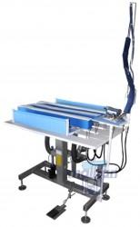 Malkan - Malkan UP29MZ Merkezi Sistem Ceket Üçlü Sırt Yan Ve Omuz Dikiş Açma Ütü Tezgahı