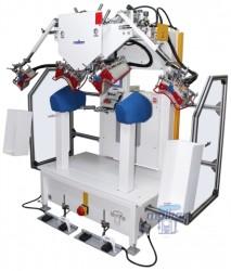 Malkan - Malkan UPP8DV3 Pnömatik Ceket Vatka Yapıştırma Ütü Presi (Sağ - Sol Bir Ünite)