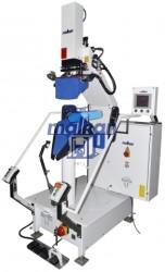 Malkan - Malkan UPP9D Pnömatik, Dik Sistem Ceket Yaka Kırma Ütü Presi (Kısa Manken)
