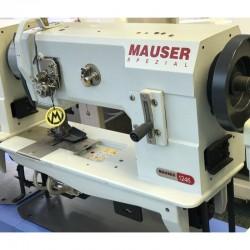 MAUSER SPEZIAL - Mauser Spezial 1246 Çift Papuç Çift İğne Deri Dikiş Makinası