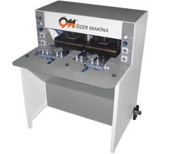 Özer Makina - Özer Makina OM-302 Tam/Yarı Otomatik Çift Baskılı Manşet Presi