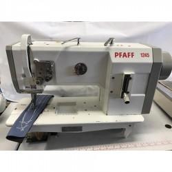 PFAFF - Pfaff 1245-706/07 Çift Papuç Tek İğne Deri Dikiş Makinası - 2.El