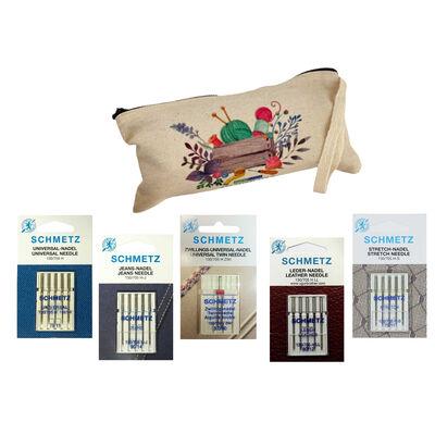 Schmetz Çantalı İğne Paketi (5 Paket)