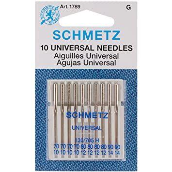 Schmetz Ev Tipi Dikiş Makine İğnesi (Karışık-10'lu)