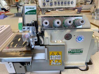 Sevmak SK-5214EX-05UBT 5 İplik Tam Otomatik Akıllı İplik Kesicili Overlok Makinası
