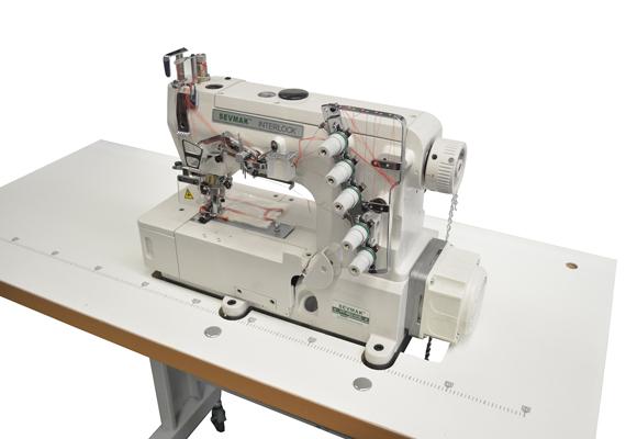 Sevmak VT-562-01D Kafadan Motorlu Mekanik Etek Reçme Makinası