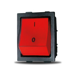 Silter - Silter TY ANH GNS1 Işıklı Anahtar - Kırmızı