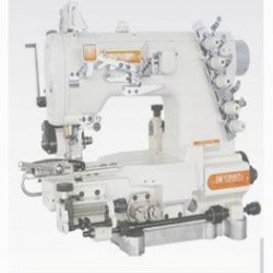 SIRUBA - Siruba C007K-W542-356/CFC/CL/FH-2 Burunlu Çekicili Gizli Lastik Reçme Makinası