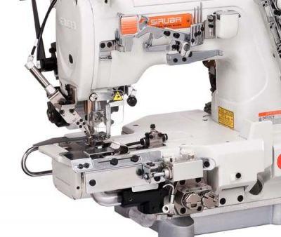 Siruba C007KD Dırect Drıve Elektronik Burunlu Çekicili Soldan Bıçak Regulalı Reçme Makinası
