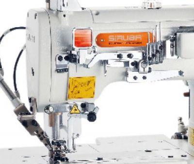 Siruba F007KD Dırect Drıve Otomatik İplik Kesmeli Elektronik Etek Reçme Makinası