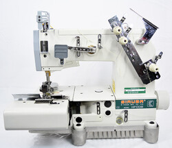 SIRUBA - Siruba HF008-02064P/FBQ/C İki İğne Bıçaklı Kot Köprü Hazırlama Makinası