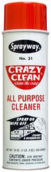SPRAYWAY - Sprayway SW030 Crazyclean Her Alanda Temizlik Köpüğü