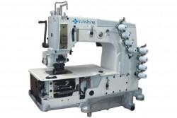 SUNSHINE - Sunshine DB-78704 P 4 İğne Zincir Dikiş Makinası (8.5mm) Kavramalı Motor