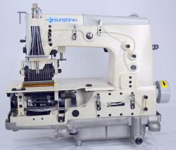 SUNSHINE - Sunshine DB-78712 P 12 İğne Zincir Dikiş Makinası (6.4mm) Kavramalı Motor