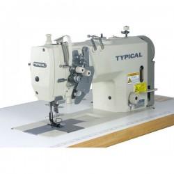 Typical - Typical GC-9450H Çift iğne küçük ve büyük mekik iptalli mikro yağlamalı orta ve kalın mat. için
