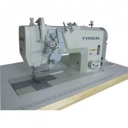 Typical - Typical GC-9750H Çift iğne küçük ve büyük mekik iptalli mikro yağlamalı orta ve kalın mat. için