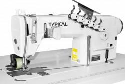 Typical - Typical GK-0056D-/P-4 3 İğne Zincir Dikiş D.Drive İğne Poz.Servo Motor Merdane Çekerli