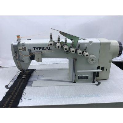 Typical GK0056D-4 (6.4) 3 İğne Zincir Dikiş Makinası - 2.El
