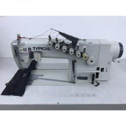 Typical - Typical GK0056D-4 (6.4) 3 İğne Zincir Dikiş Makinası - 2.El