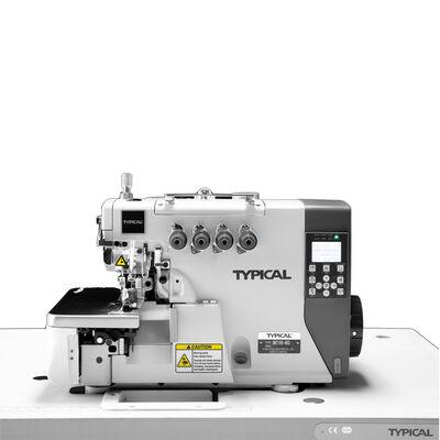 Typical GN-7100-4H/Q3 Elektronik Direct Drive Full Otomatik 4 İplik Hava Sistemli Overlok Dikiş Makinası