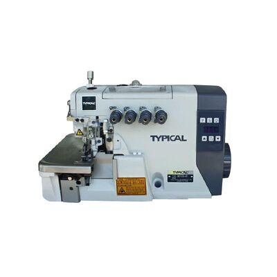 Typical GN-7100-5HD Elektronik Direct Drive 5 İplik Kot İğne Pozisyonlu Overlok Dikiş Makinası