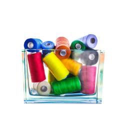 Wonder Fil - Wonderfil 10 Adet Renkli Dikiş ipliği (Karışık Renkler)