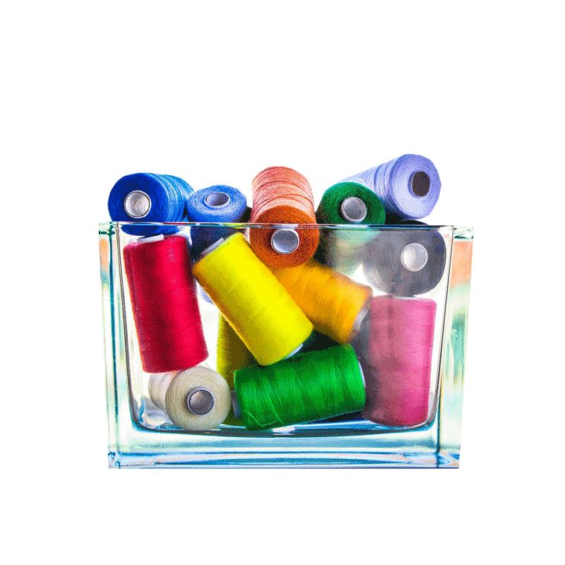 Wonderfil 30 Adet Renkli Dikiş ipliği (Karışık Renkler) -