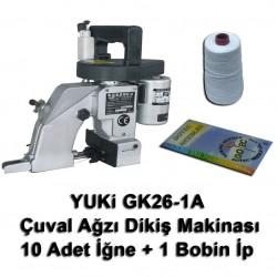 YUKI - Yuki GK26-1A Çuval Ağzı Dikiş Makinası + 10 Adet İğne + 1 Bobin İp