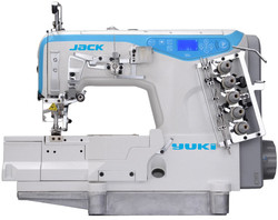YUKI - Yuki Jack W4-UTL-D-I-01GBX356 Etek Reçme Makinası İplik Kesicili Pnömatik